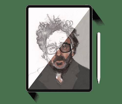 Tim Burton Page Gavin Hyam Ui Designer